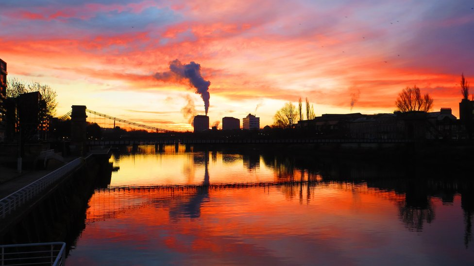 Fall - Glasgow sunrise
