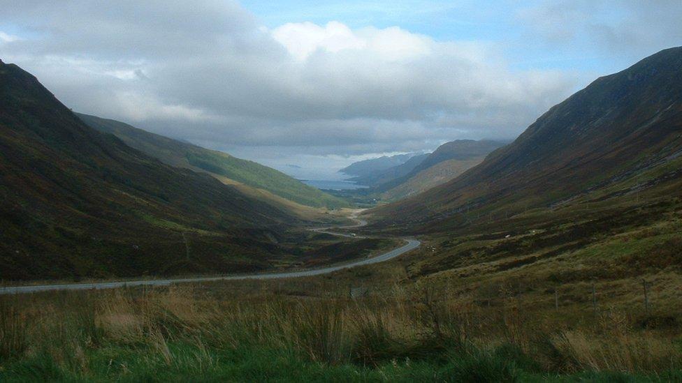 Fall - Glen Docherty and Loch Maree