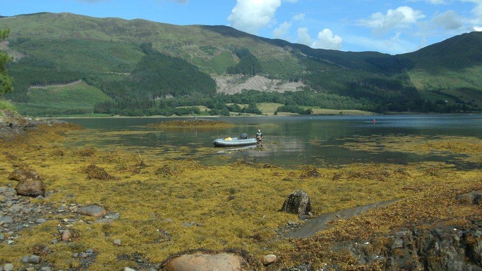 fall - Loch Leven