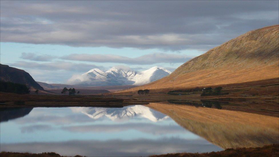 Autumn An Teallach & Loch Droma