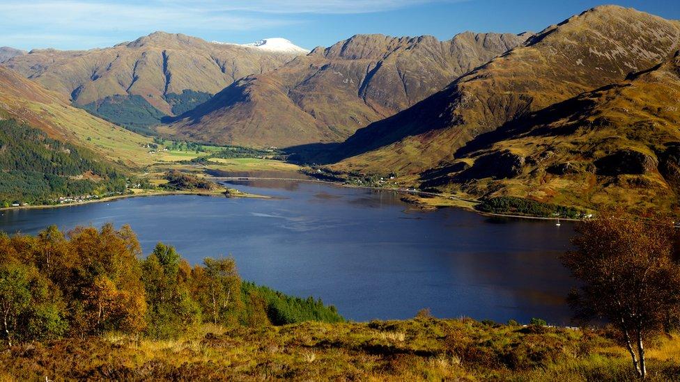 Fall - Loch Duich & Glenelg