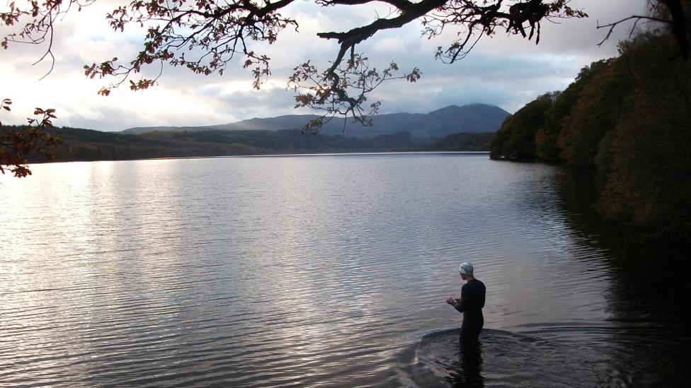 Fall Loch Venachar