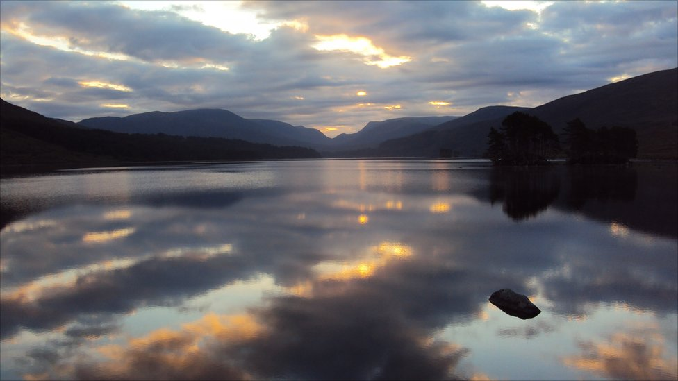 Autumn Loch Ossian