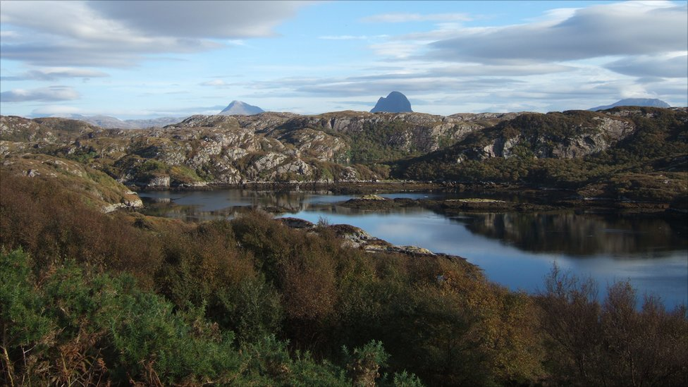 Autumn Suilven from Achmelvich