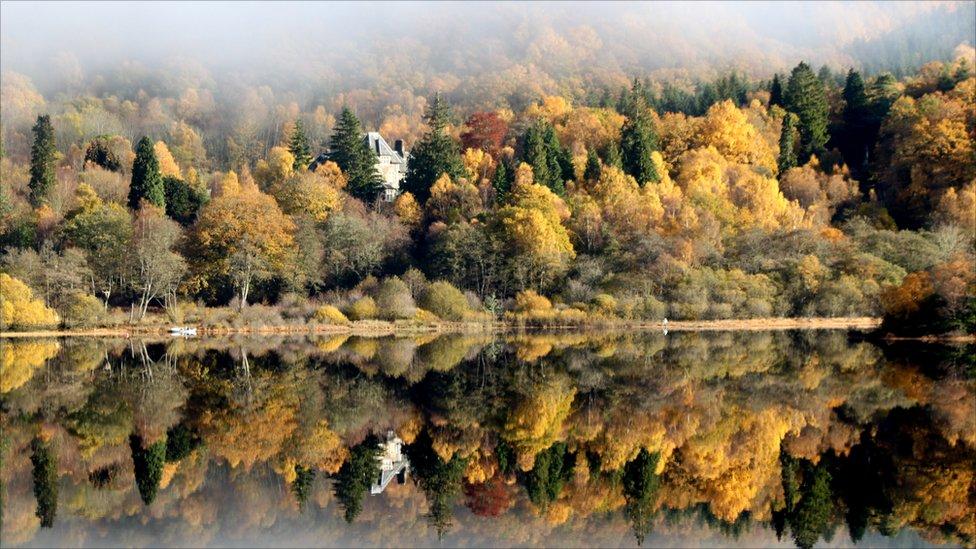 Autumn Trossachs