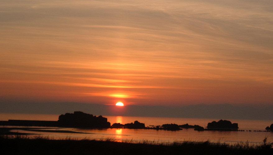 Ayrshire maidens at Sunset