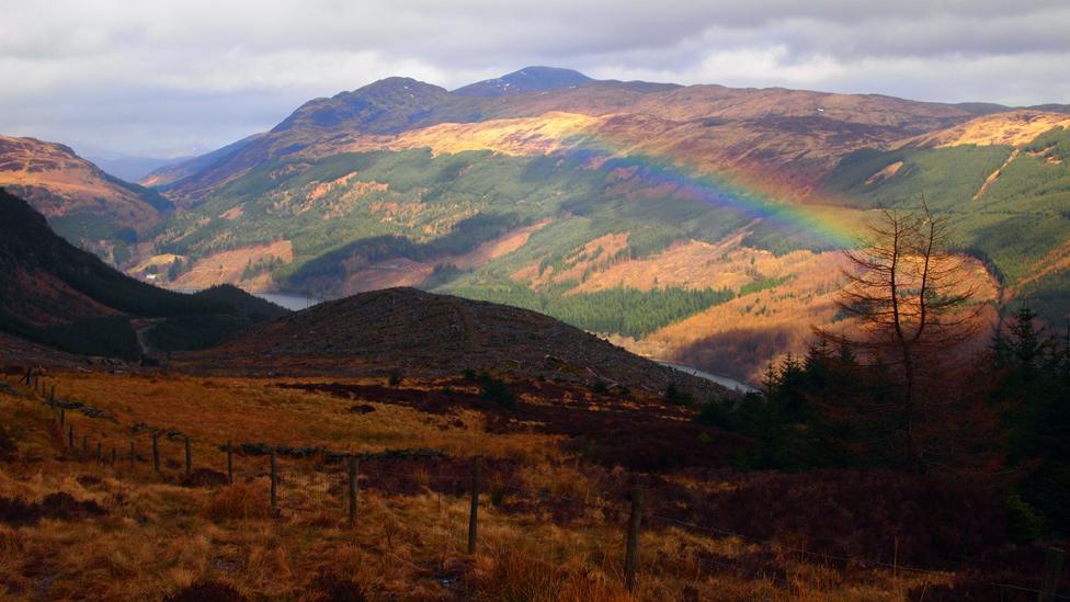 Ben Ledi to Loch Lubnaig