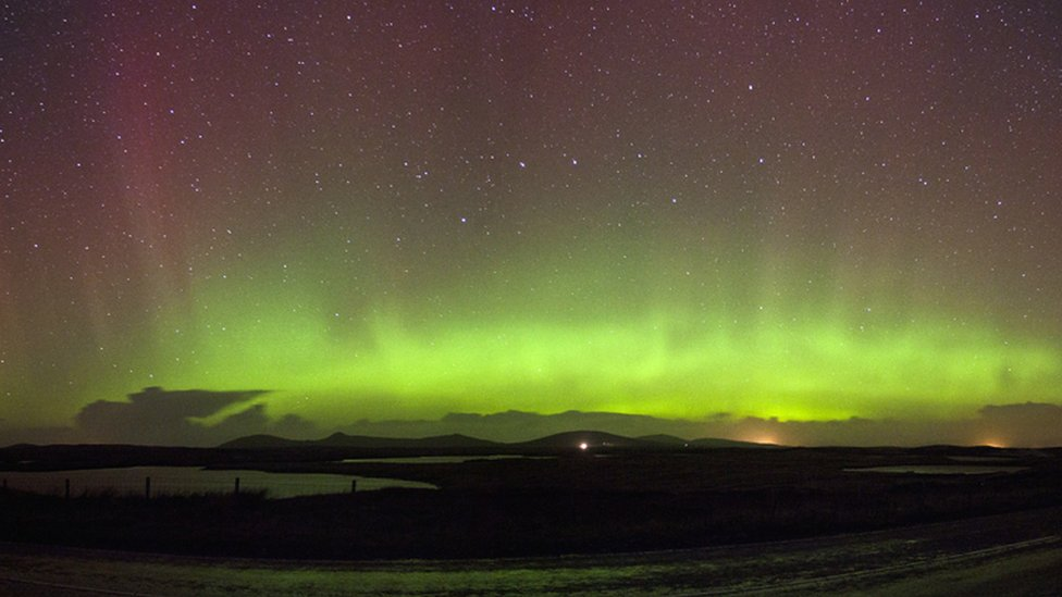 Fall - Aurora Borealis from North Uist