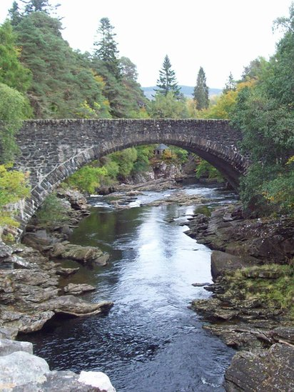 Fall - Invermoriston Bridge