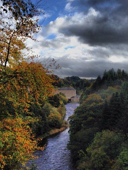 Fall - New Lanark