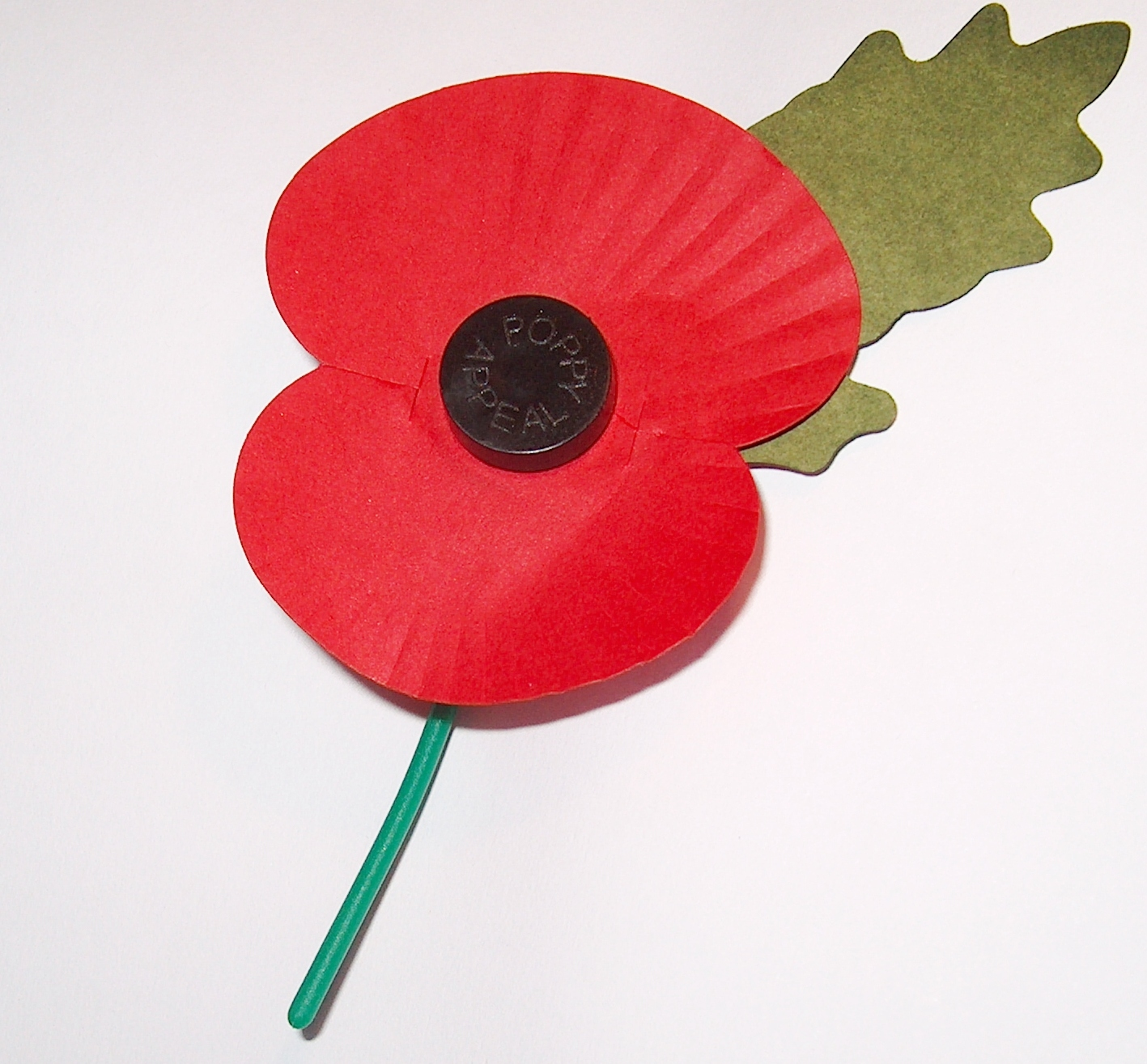 remembrance poppy UK