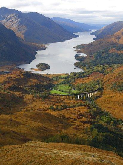 Fall - Loch Shiel & Glenfinnan from Beinn an Tuim