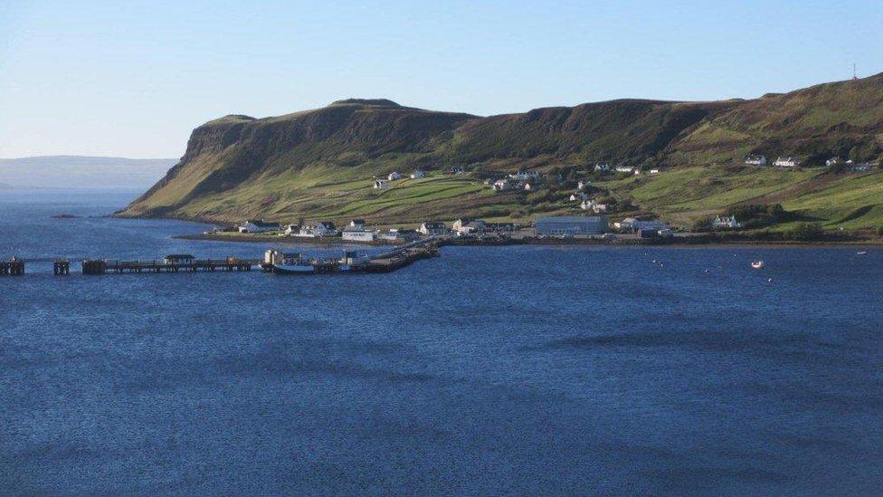 Uig Bay from Fraser's Folly