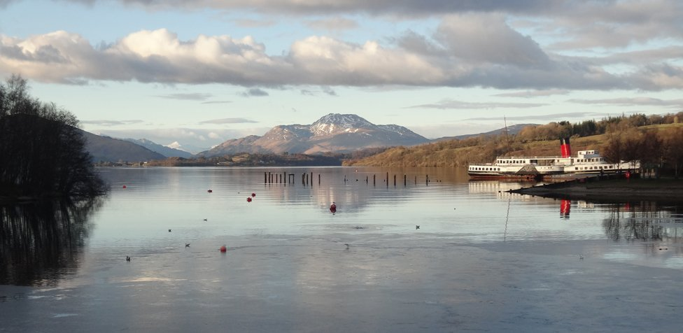 Winter - Ben Lomond & Maid of the Loch
