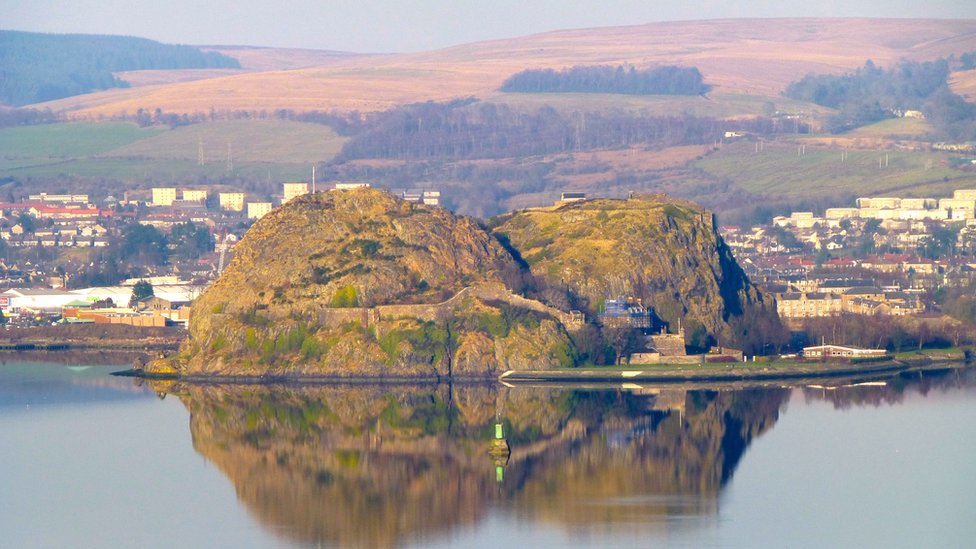 Winter - Dumbarton Rock