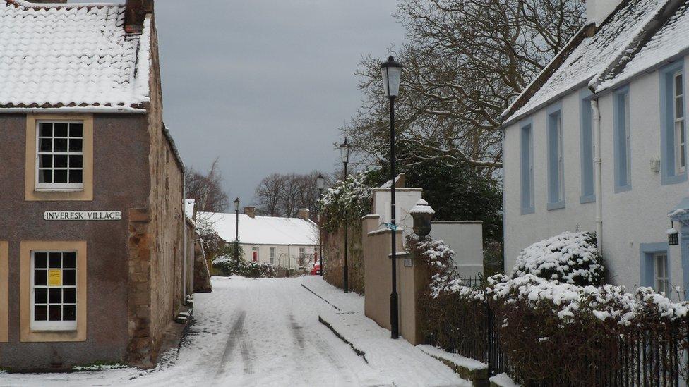 Winter - Inveresk Village