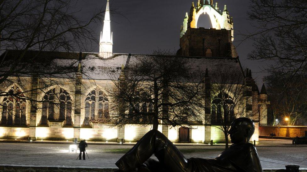 Winter - Kings College, Aberdeen