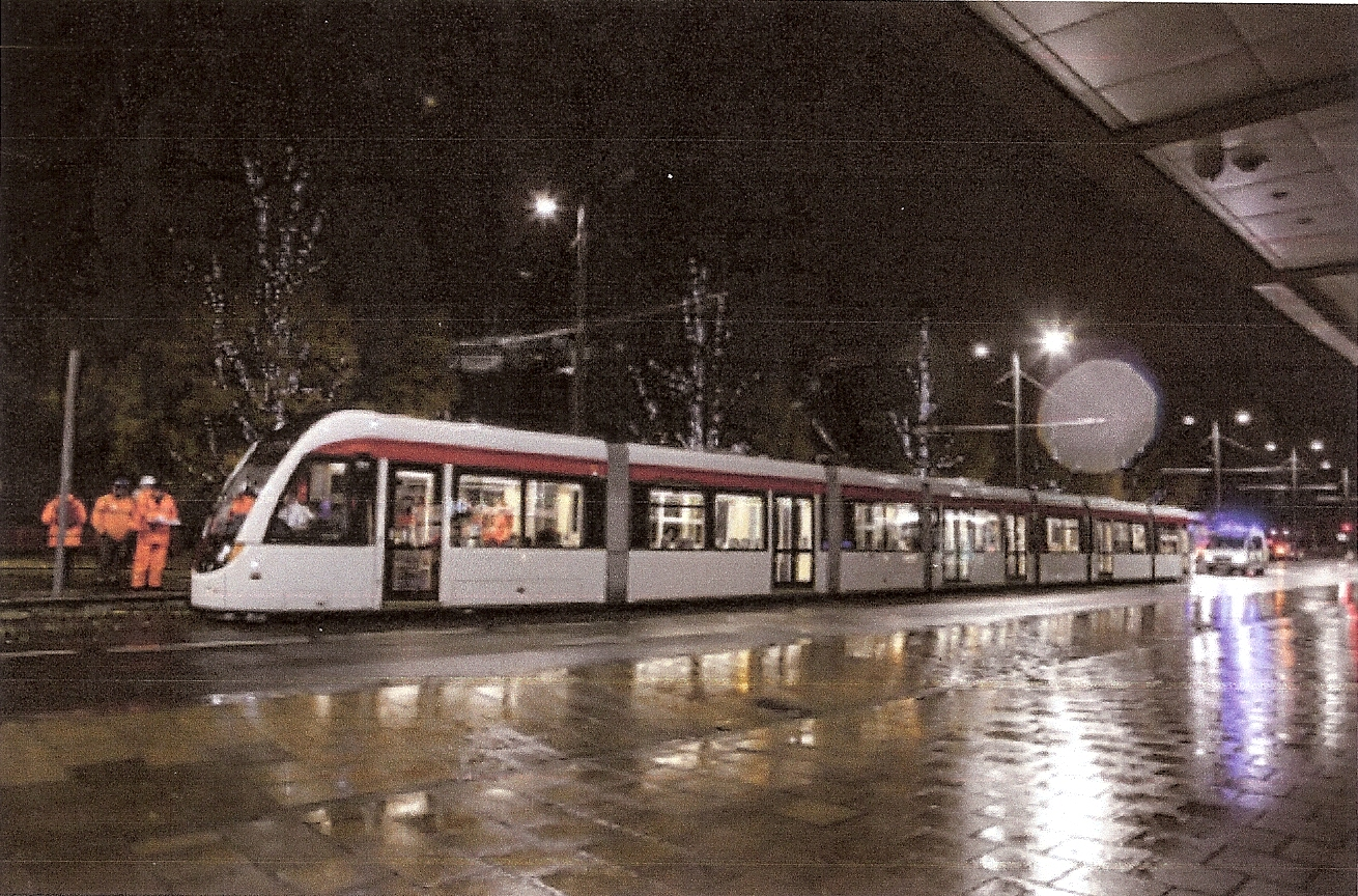 edinburgh tram trial