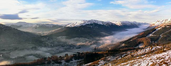 winter - Balquidder from Auchtubhmore Hill