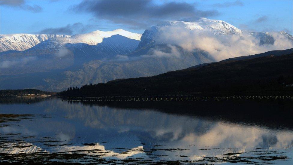 winter - Ben Nevis & Loch Eil