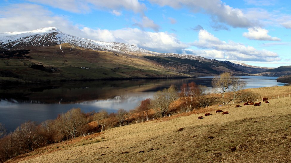 Winter - Loch Tay to Ben Lawers