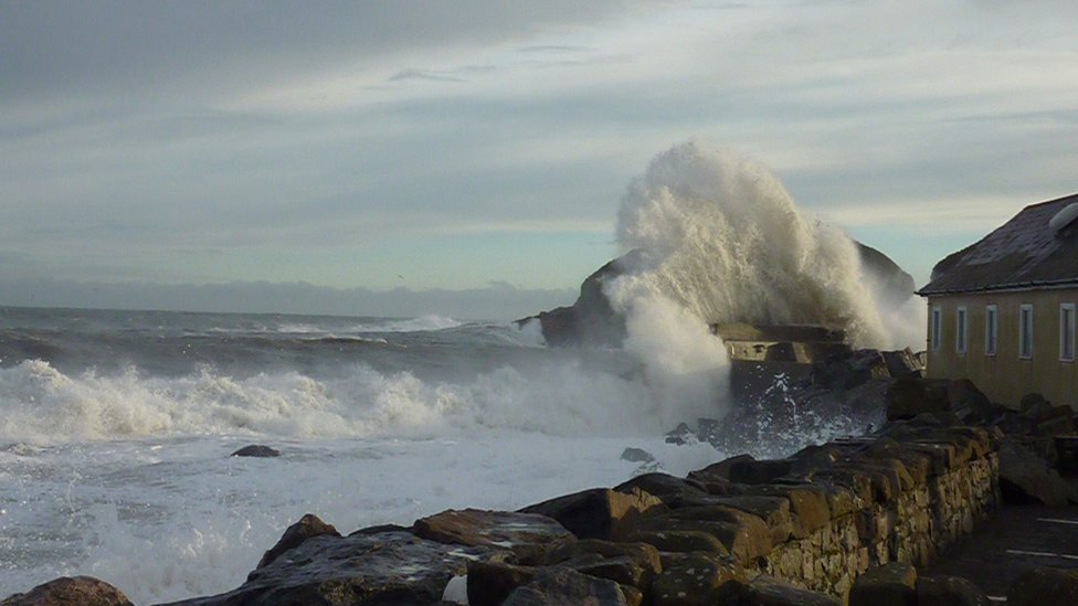 Winter - Perfect storm Stonehaven