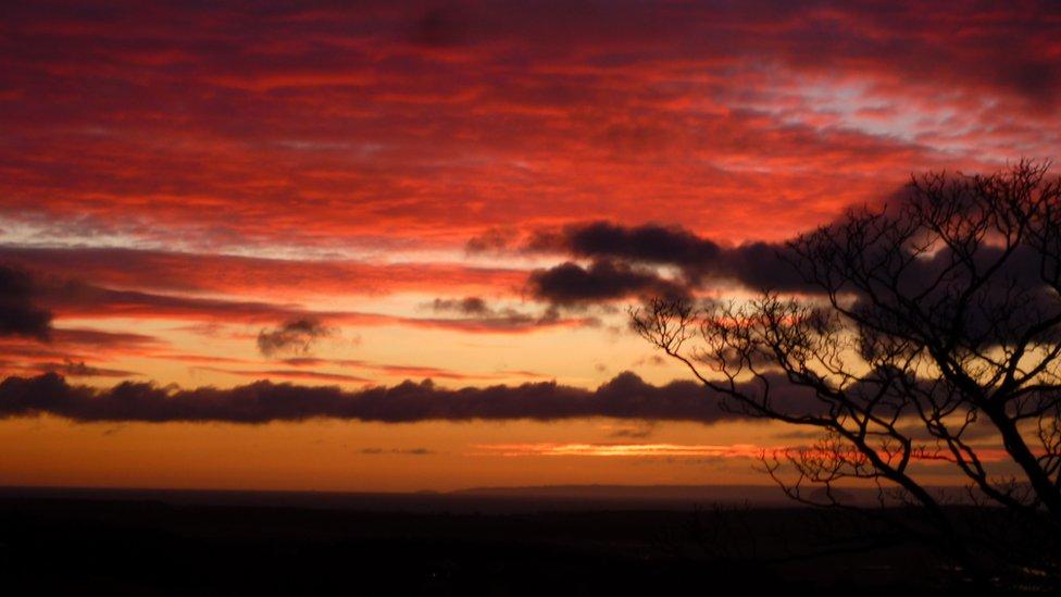 Winter - sunrise East Neuk
