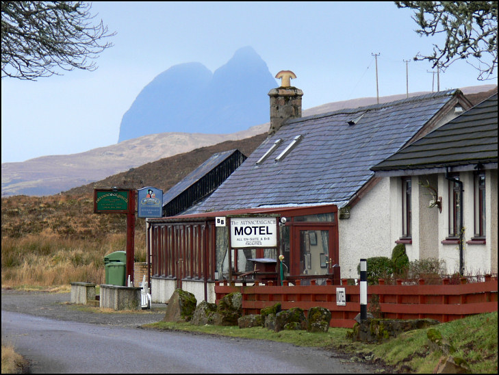 Winter Alttnacealgach Motel