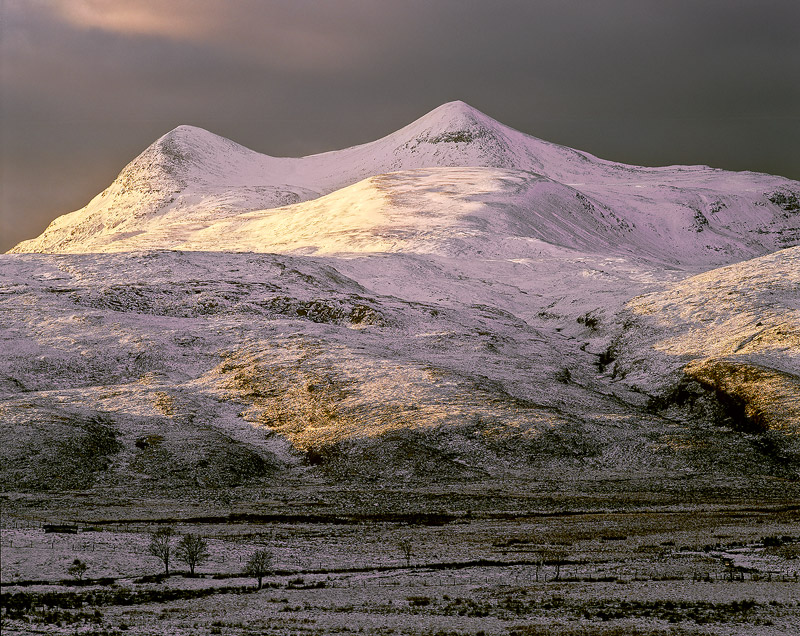 Winter assynt Snowcap
