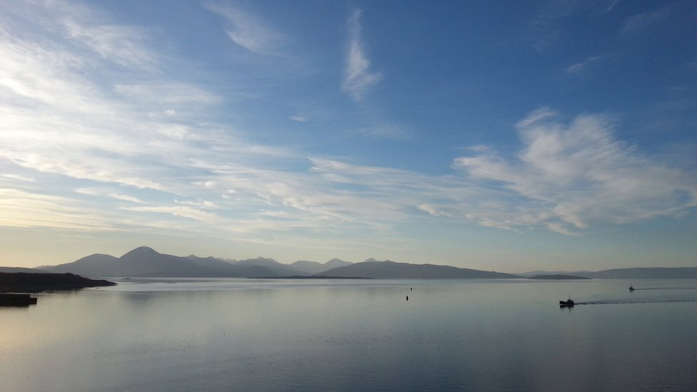 Winter - view from Kyle of Lochalsh