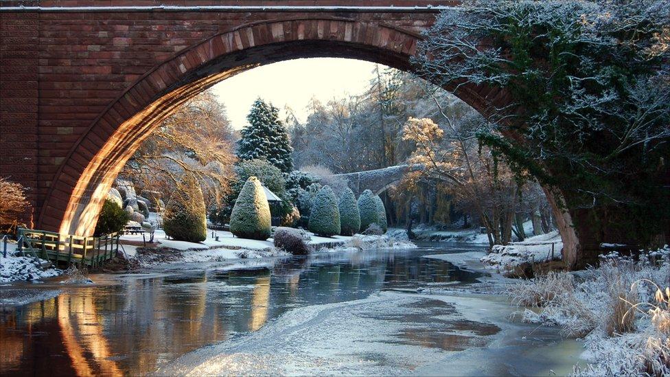 Winter Brig O' Doon