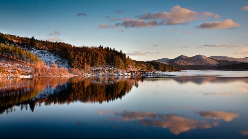 Winter Loch Doon