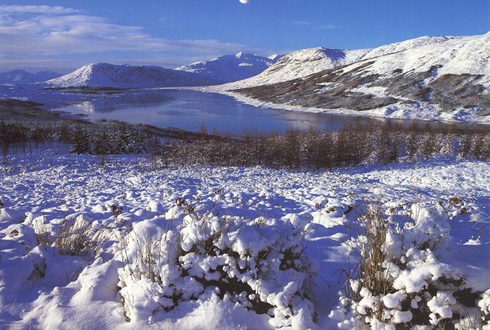 Winter Loch Loyne