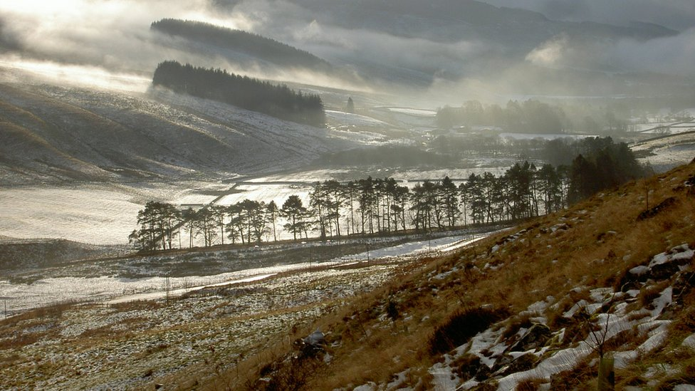 Winter - Valley of Moffat Water