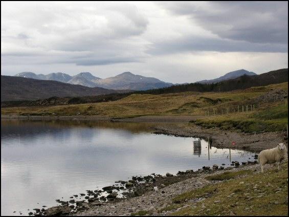 winter Loch a'Chroisg
