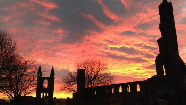 Winter - St Andrews Cathedral