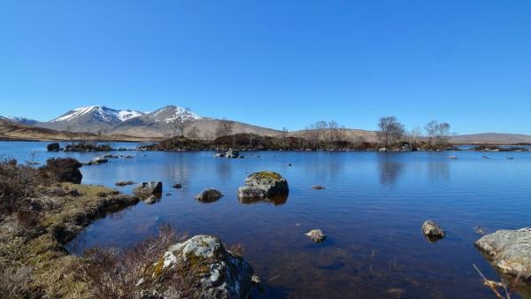 Winter - Lochan na h-Achlaine & Black Mount