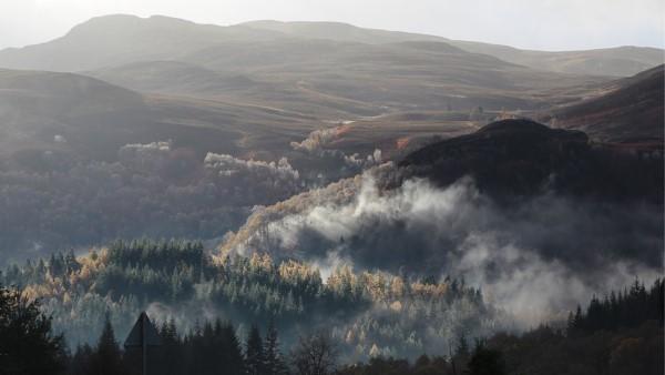 Winter - Pass of Killiecrankie