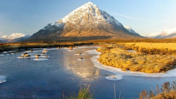 Winter - River Etive & Buachaille Etive Mor