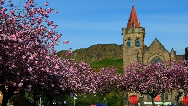 Spring - Kirk o Field Parish Church