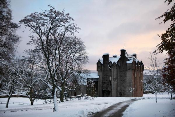 Winter - Crathes Castle