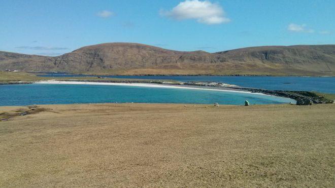 Spring - Bannaminn Beach, Burra Isle, Shetland
