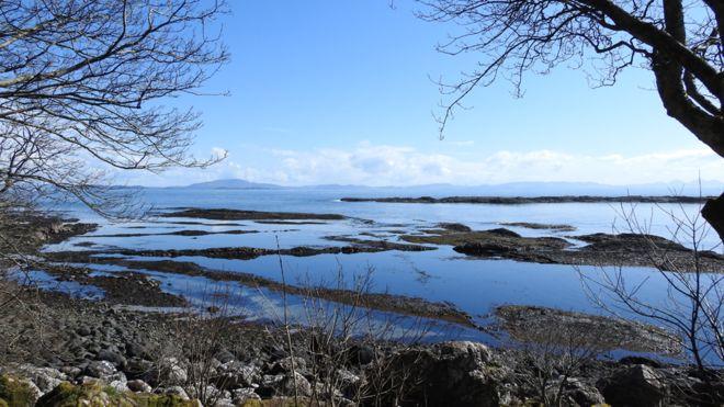 Spring - Carsaig Bay, Mull