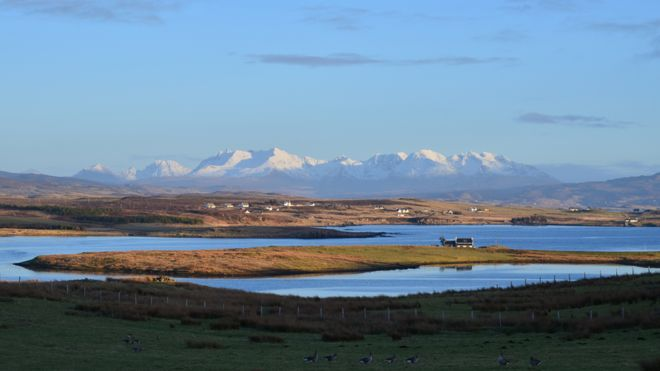 Spring - Cuillins from Roag