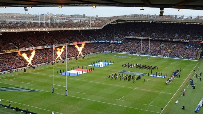 Spring - Murrayfield (v France we won!)