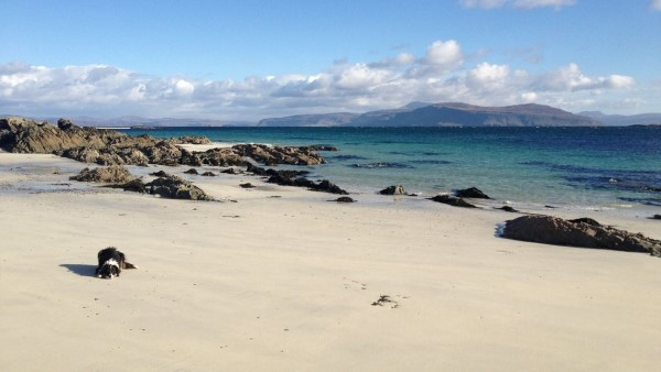 Iona looking to Mull