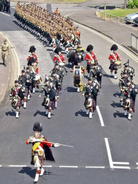 Summer - 4th Battalion Royal Regiment of Scotland in Clydebank