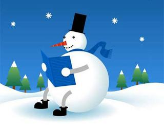 new-year-snowman